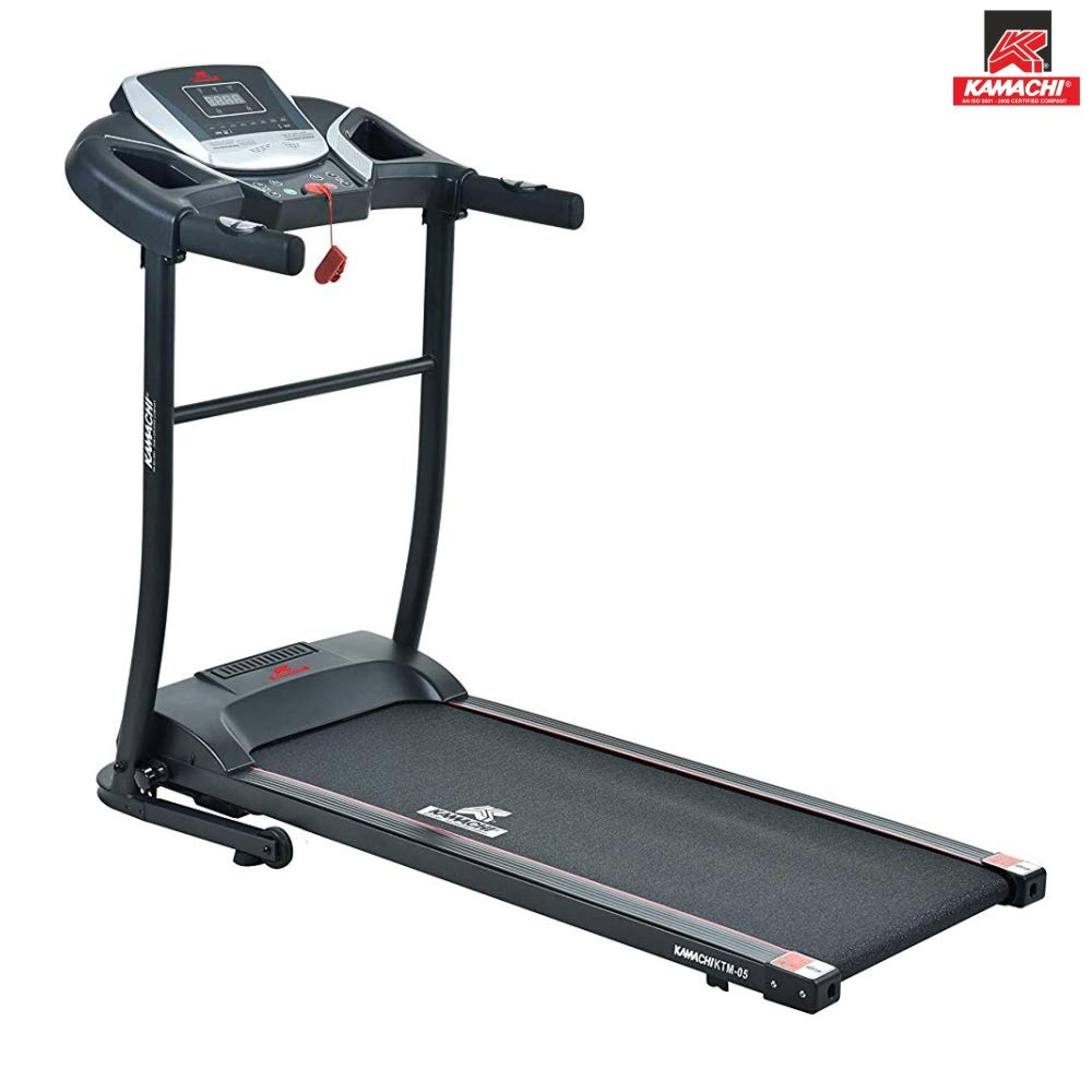 KAMACHI KTM-05 Steel 2 HP Motorised Treadmill (Free Online