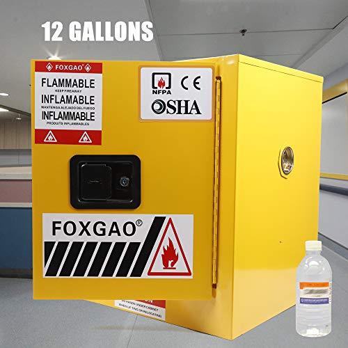 WINUS 12 Gallon Safety Fireproof Flammable