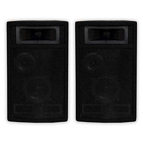 - Acoustic Audio by Goldwood Acoustic Audio PA-500X Passive 800 Watt 3-Way Pair DJ PA Karaoke Studio Speakers