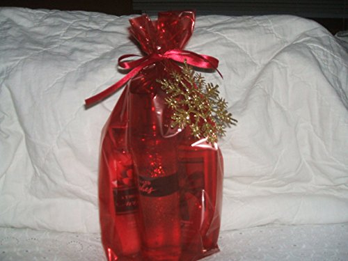Bath & Body Works A Thousand Wishes Gift Set Body Lotion Fragrance Mist Shower Gel in Decorative Bag