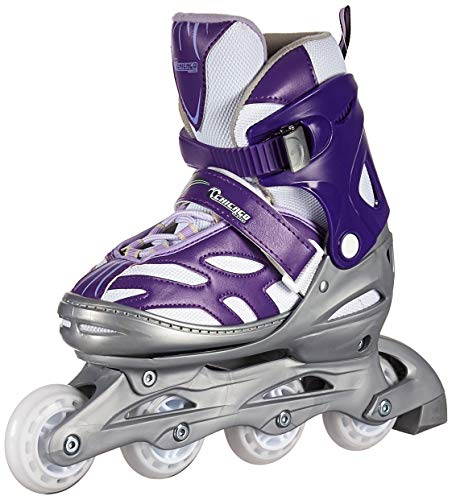 Chicago Blazer Junior Girls Adjustable Inline Skates - Purple - Sizes 5-8