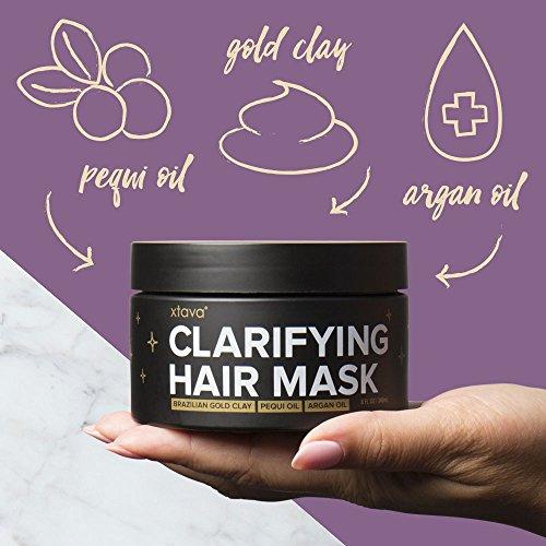 Xtava Clarifying Clay Hair Mask