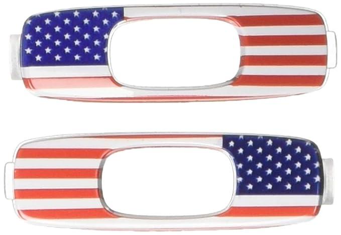 9d67477f9d Amazon.com  Oakley Icon USA Flag Adult Batwolf Sunglass Accessories ...