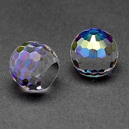 Amazon.com: 12mm Swarovski Crystal 4869 Fireball Shape Bead by 2 ...