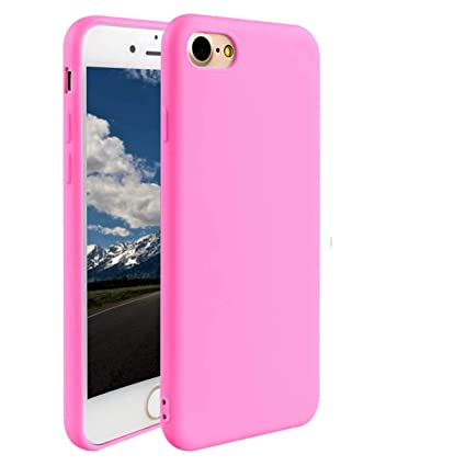 Amazon.com: Funda delgada compatible con iPhone 7 (2016 ...