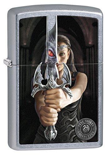 (Zippo Lighter: Anne Stokes, Sword - Street Chrome 76686)