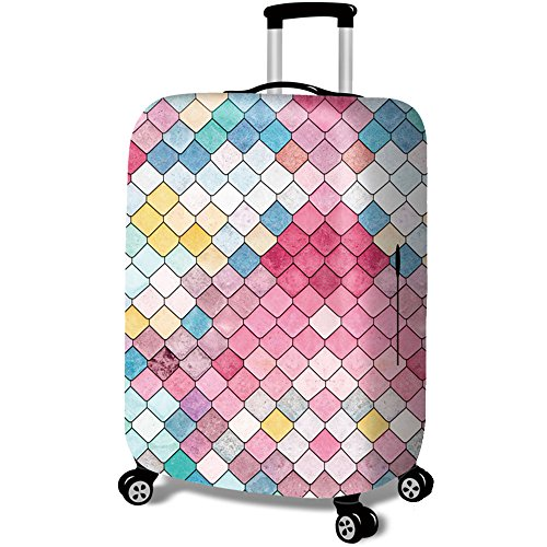 Travel Accessories Luggage Sets Travel Luggage Cover Suitcase Cover 18-32inch ISEYMI New Design Fit For Most (Mini Suitcase)