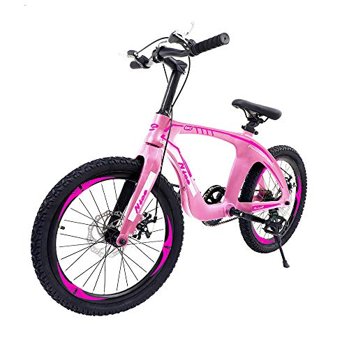 "Nice C BMX Bike, Mountain Bike, 20"" Cycle Bicycle with Dual Disc Brakes, Ultralight for Boys and Girls"