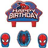 Spider-Man Ensemble de bougies d'anniversaire