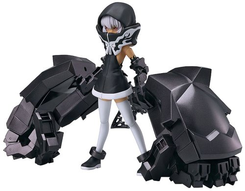 Good Smile Figma TV Animation Version Black Rock Shooter Strength PVC - Black Shooter