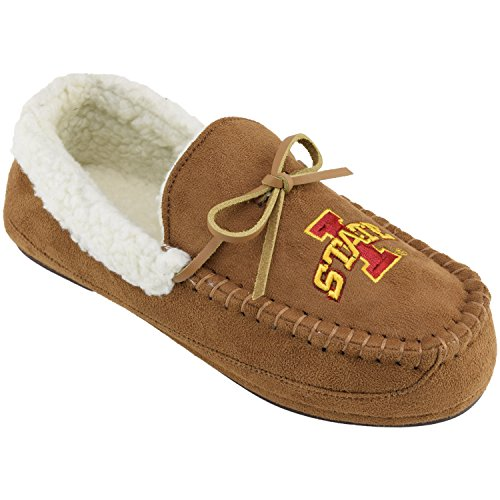 Campus Cruzerz Men's NCAA Juneau Slipper Moc,Iowa State, S M US