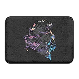 Final Fantasy VII Non-slip Doormat Rug,Indoor Outdoor Doormat ,dog Rug,size 60cm40cm