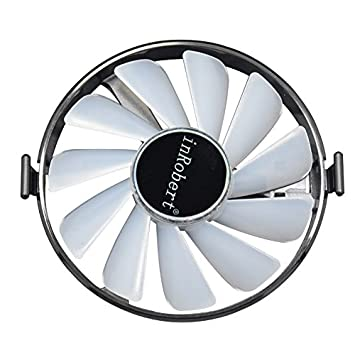 inRobert Hard Swap Fans GPU VGA LED Cooler Cooling Fan