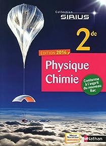 Physique-Chimie 2de par Ameline