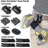 Spider Tool Holster - QUAD TOOL KIT - 10 Piece Set
