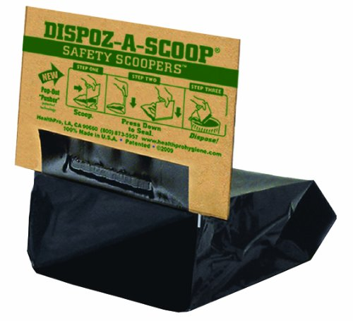 HealthPro Dispoz-A-Scoops for Dogs - 96 pack by Dispoz-A-Scoop (Image #1)