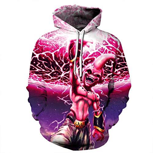Caisell Unisex Comics Funny Prints Sweatshirt Casual Hoodies