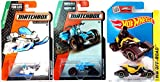 Snow Ripper Snow Stormer New Casting Hot Wheels # 110 Arctic Mountain Set MBX Explorers Matchbox #77 Moto Tracker & #87 in PROTECTIVE CASES
