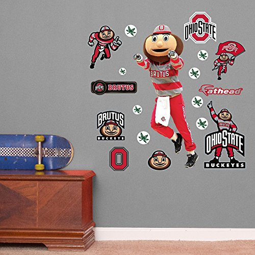 State Buckeyes Fathead Junior Decals
