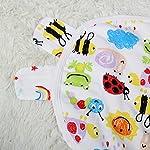 WICIHODOO-100-Percent-Cotton-Original-Swaddle-Blanket-1-PKLadybugs9-20-lbs