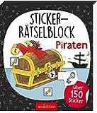 Sticker-Rätselblock Piraten
