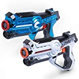 USA Toyz Laser Tag Multiplayer Games - Space Blaster Laser Tag Gun Set, Laser Tag Guns for Girls and Boys Toys, Lazer Tag, No Vests Needed (2pk)