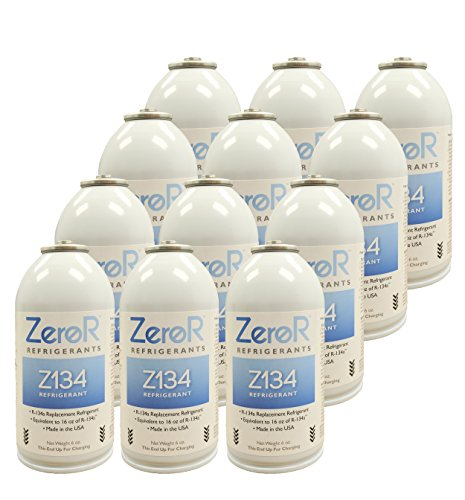 ZeroR Z134 Refrigerant - R134a Replacement - 12 Cans for sale  Delivered anywhere in USA