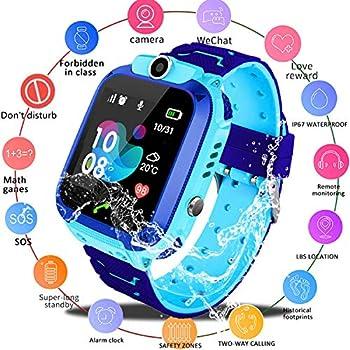Amazon.com: Bohongde Kids Smartwatch Waterproof with SOS ...