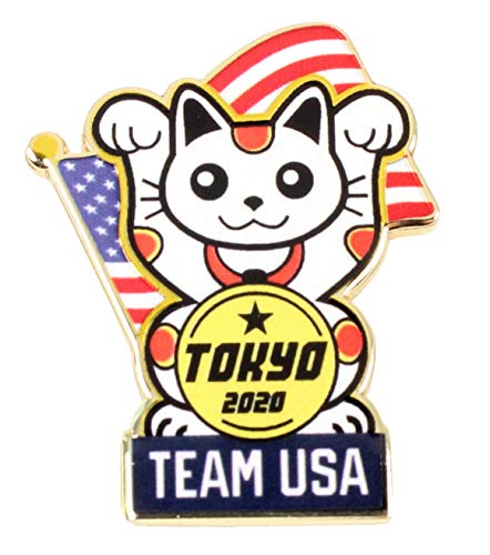 2020 Tokyo Olympics Team USA Lucky Cat Mascot ()