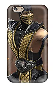 Protective Tpu Case With Fashion Design For Iphone 6 (mortal Kombat)