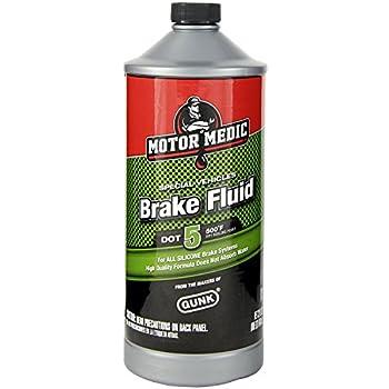 Motor Medic M4032/6 DOT 5 Silicone Brake Fluid - 32 oz.