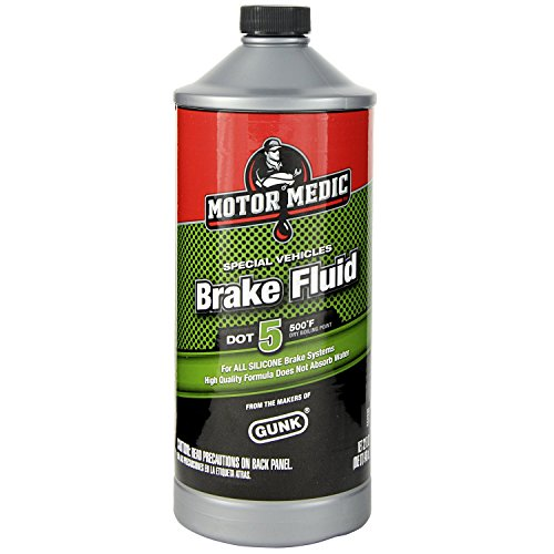 Motor Medic M4032/6 DOT 5 Silicone Brake Fluid - 32 oz. (Brake Motor)