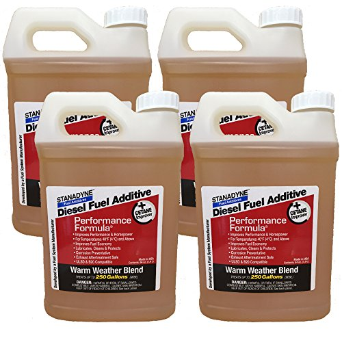 Stanadyne Performance Formula Warm Weather Blend | 4 pack of 64oz Jugs 43572