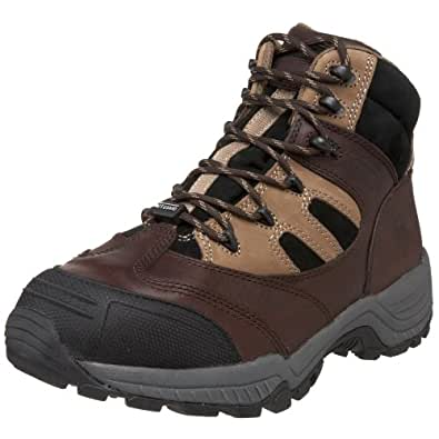 Wolverine Men's Kingmont Composite Safety Toe Hiker,Dark Brown/Black,5 M US