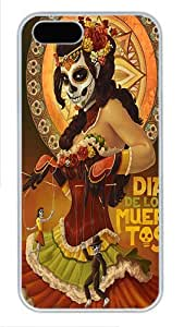 IMARTCASE iPhone 5S Case, Day Of The Dead Polycarbonate Back Case for Apple iPhone 5s/5 White