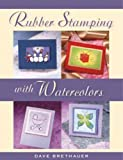 Rubberstamping with Watercolors
