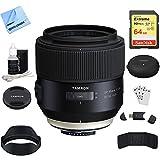 Tamron SP 85mm f1.8 Di VC USD Lens for Nikon Full-Frame DSLR Cameras (F016)...