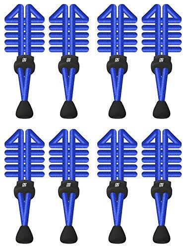 Schnellverschluss Blue Sets für Elastische Laufen 4 Triathlon mit Schnürsenkel rund AI7qqwx6Ez