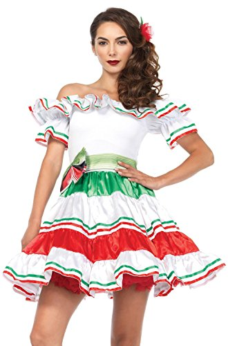 Sultry Senorita Spanish Dancer Adult Women'S Costume Dress S/M M/L - Flamenco Dancer Costume Man