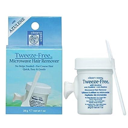 Clean + Easy Tweeze-Free Hard Wax for Eyebrows 1 oz