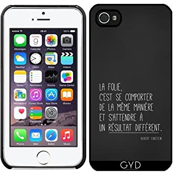 coque iphone 7 transparente avec citation