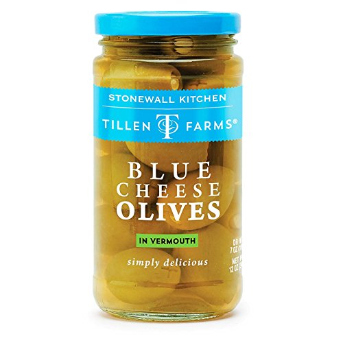 Tillen Farms Blue Cheese Olives, 12 ounces
