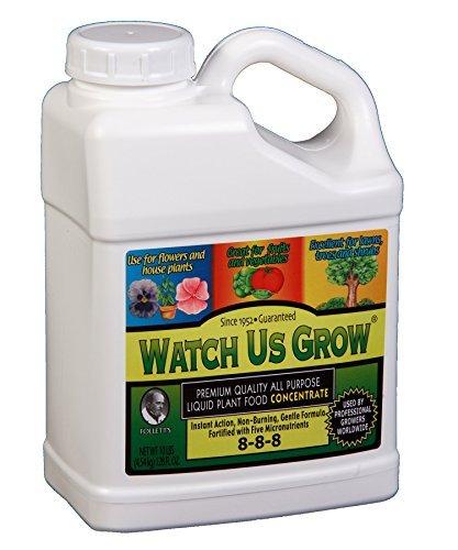 Watch Us Grow All Purpose Liquid Plant Food Fertilizer Concentrate (1, - Fertilizer Grow Liquid