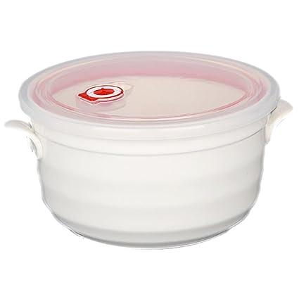 Amazoncom Bakou fresh sealed white ceramic food storage container