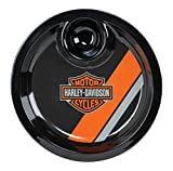 Harley-Davidson Bar & Shield Two-IN-One Chip & Dip Tray, Black HDL-18562