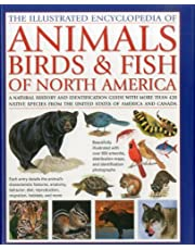 Animals, Birds & Fish of North America, the Illustrated Encyclopedia of: A Natural History and Identification Guide to the Captivating Indigenous Wildlife of the United States of America and Canada