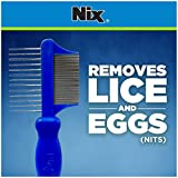 Nix Premium 2-Sided Metal Lice Removal Comb