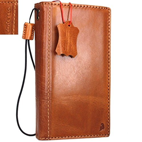 Genuine Italian Oiled Vintage Leather Case Fit Samsung Galaxy Note 4 Book Wallet Business Handmade Id Slim - Usps Shipping Uk To