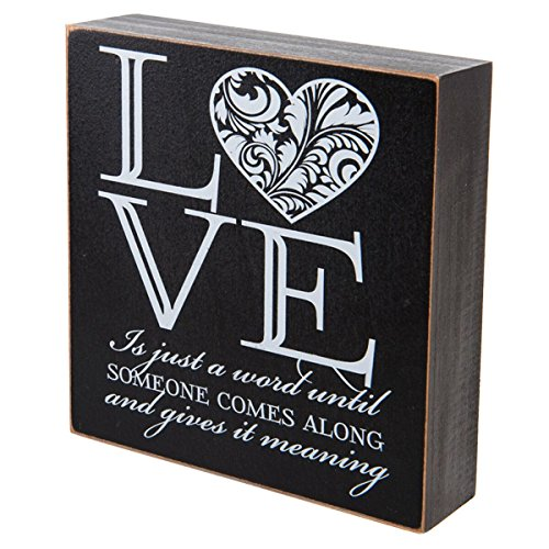 Love Is Just A Word Until Someone Comes Along And Gives It Meaning  Wedding Anniversary Gift For Couple  Gift Ideas For Mr  And Mrs  Love Shadow Box By Dayspring Milestones  Love Is Just A Word