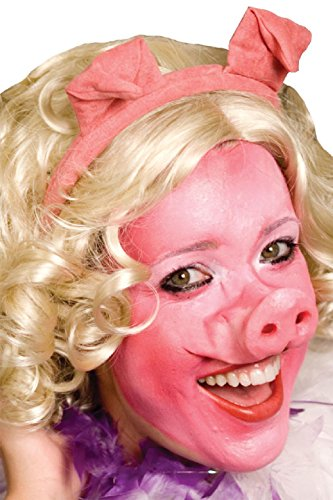 Sailor Dance Recital Costumes (OvedcRay Pig Nose Professional Latex Pig Piglet Piggy Hog Animal Costume Nose Set)